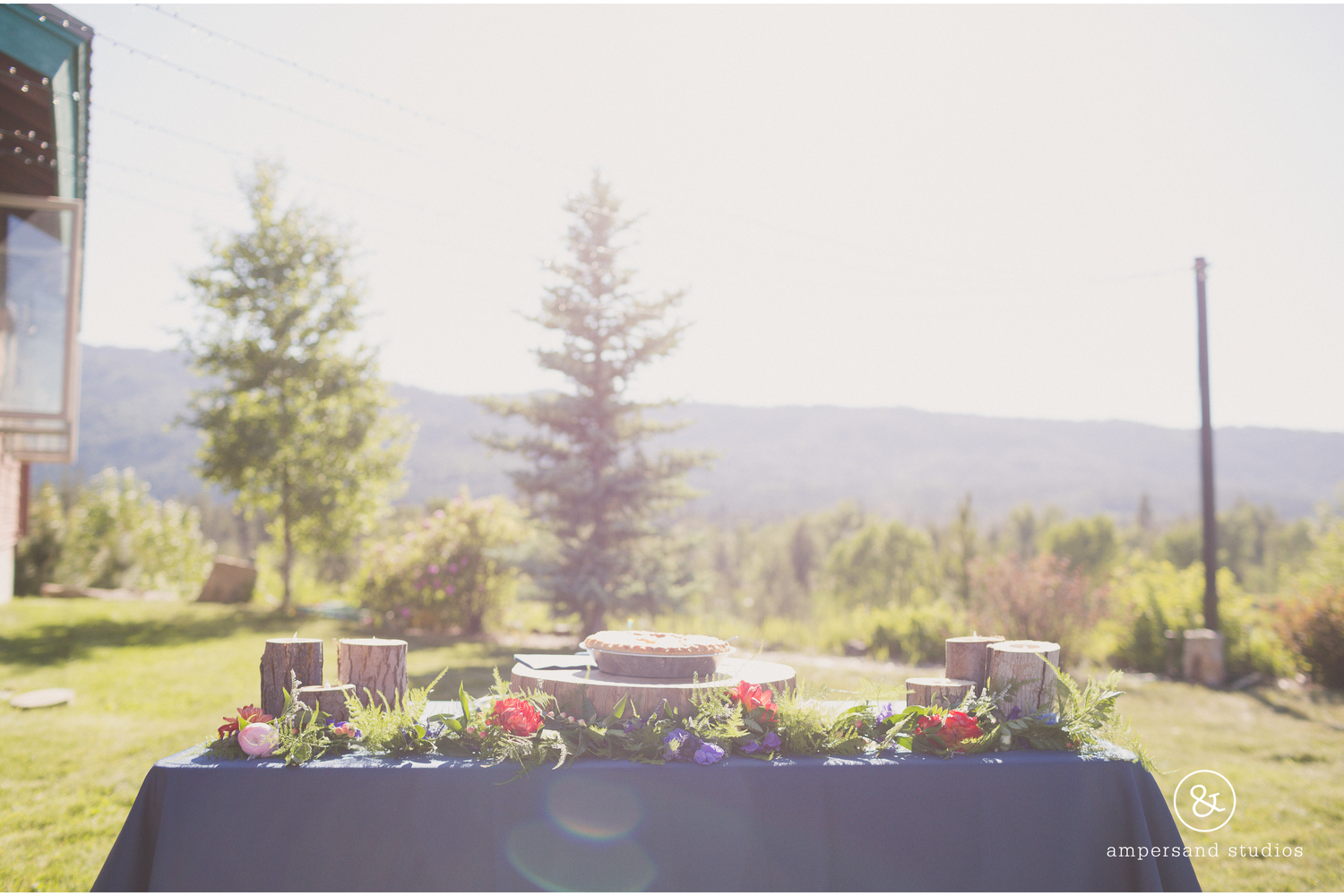 Planning an Outdoor Idaho Mountain Venue Wedding in all Seasons